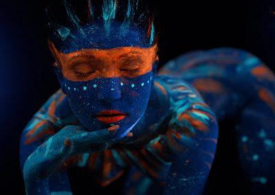 Felnőtt arc-és testfestés, airbrush, színpadi, fotós sminkek és speciális effektek